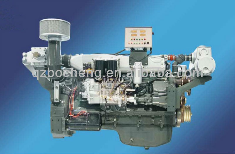 34-305Hp small marine inboard diesel engine for sale 25-225kw CE and ISO