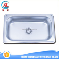 2016 Good quality kitchen sink single bowl fancy universal stainless sinks