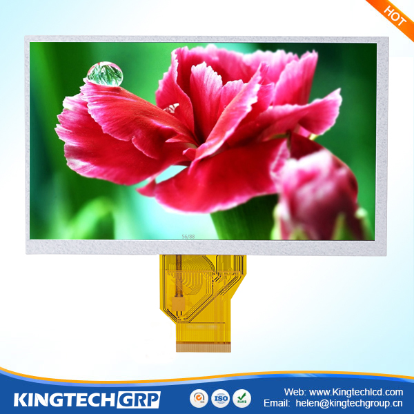 800x480 touch panel 7 inch 50-pin lcd display with ttl interface