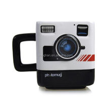 promotional creative drinking cup coffee cup camera lens mug with handle