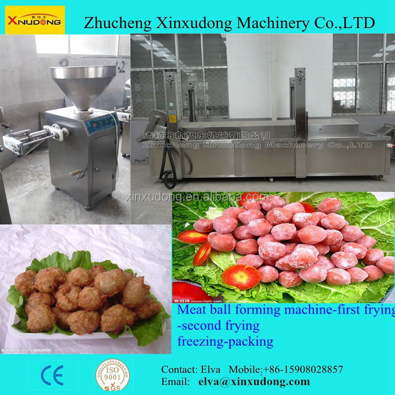 Fish Ball Making Machine; A complete line for Meat Ball Machinery