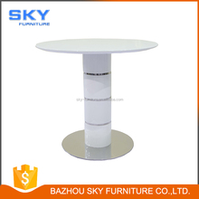 high wooden bar table