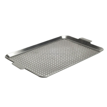 Stainless Steel Large Microwave Grill Plate