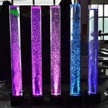 <strong>LED</strong> Crystal Water Bubble Wedding Stage Lighting Decoration