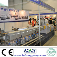 nanjing kairong PET Twin screw extruder for PET sheet no need dryer and crystallizer