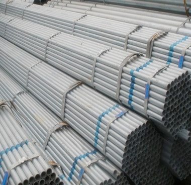ASTM A53GR.B/BS1387 seamless galvanized steel pipe/ tube/gi pipe from tianjin china