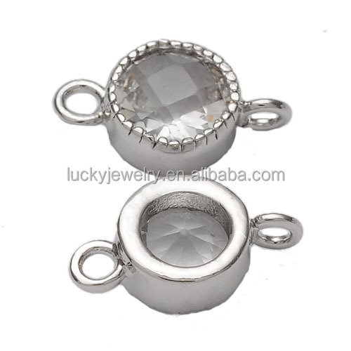 Hot Children's,Men's,Unisex,Women's Gender and Pendants or Charms Jewelry Type Connector Bezel Setting Gemstone