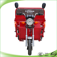 800w battery operated electric 3 wheel motor tricycle