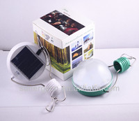 9LED solar yard light with light control
