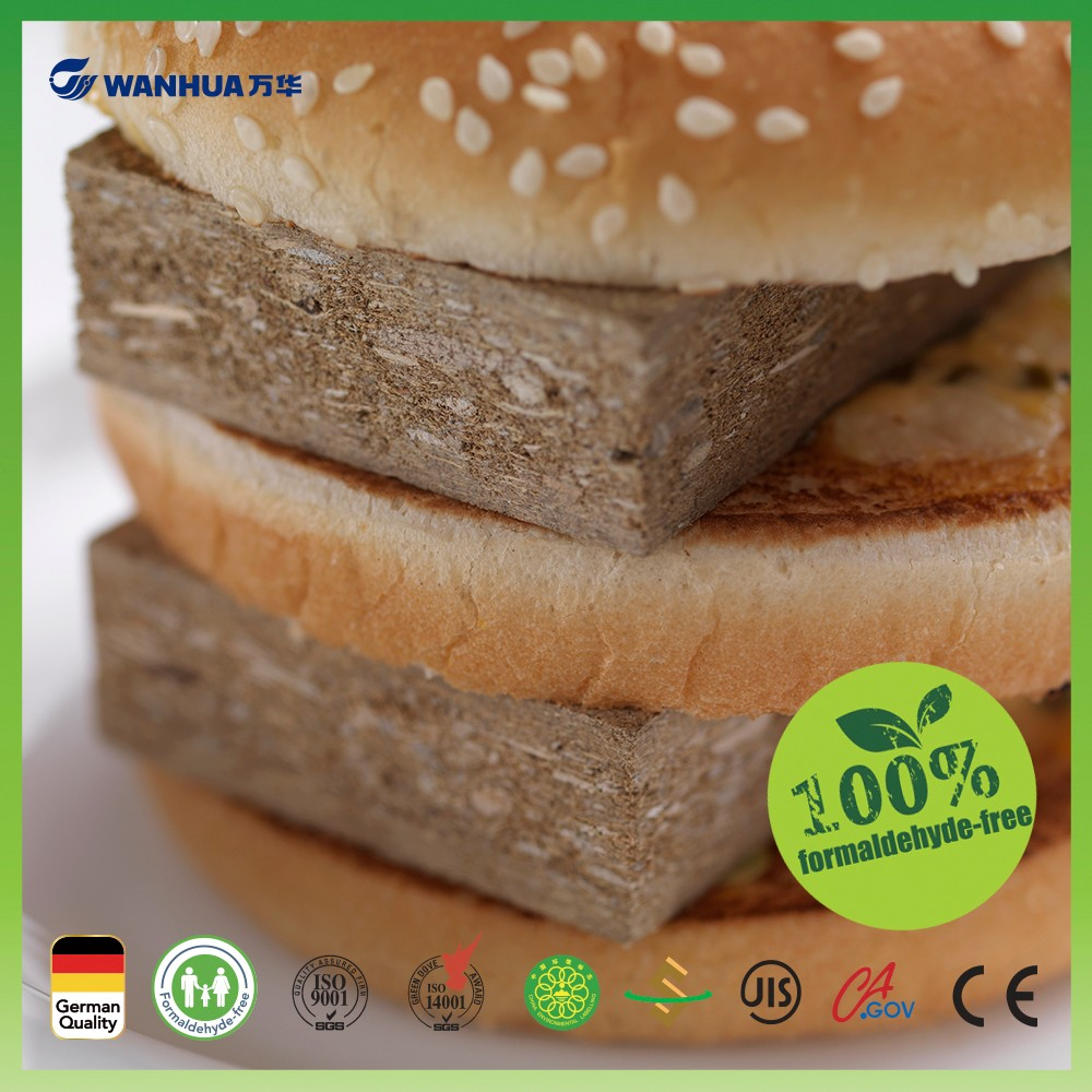 Super ecofriendly recycle material based green particle board