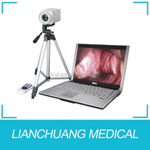 Portable digital video colposcope with software
