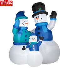 Manufacturer wholesale Customized giant 20 ft inflatable snowman