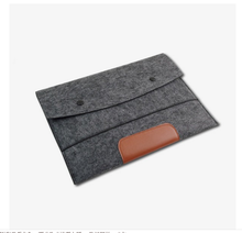 New sell fashion felt messenger laptop bag for Macbook/Mac air