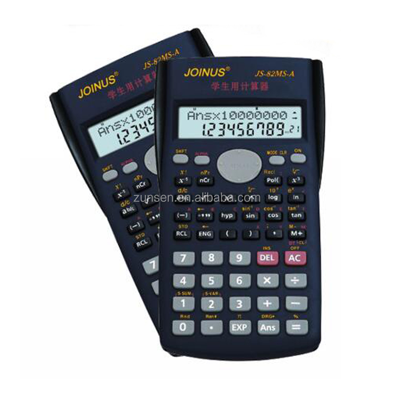 Stationery Student Function Calculator citizen calculator 2-Line LCD Display Multifunctional Counter Calculating Machine