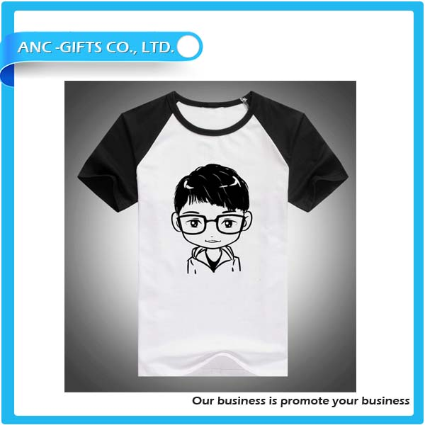 Short sleeve raglan 3/4 baseball boys t shirts latest sports t shirt designs for men