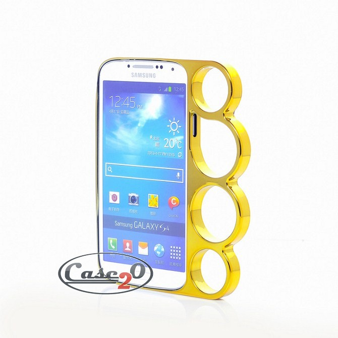 Samsung Galaxy S4 Brass Knuckle Hard Case