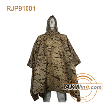 Army Olive Green Raincoat Military Poncho Raincoat
