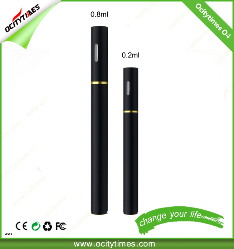 lipstick vaporizer cigarette O4 disposable CBD vaporizer pen 0.2ml/0.8ml