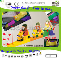 Mini Plastic Toy Cars with Ramp for Baby and Kids to Drive