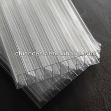 Polycarbonate 7 Layer Diamond Multiwall Structure Hollow PC Sheet