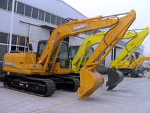 excavator type and capacity