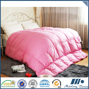 New Products Wholesale Hotel 100% Cotton White Goose Down Comforter