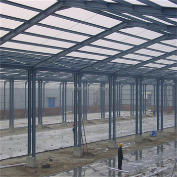 Light steel structure wokshop with professional design and high standard -Qingdao TaiLong