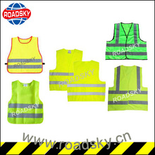 Motorcycle Reflective Safety Vest with Back Pockets