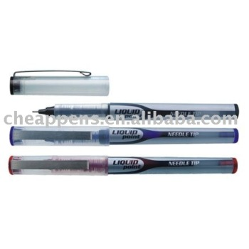 office writing signature plastic liquid ink ball pen