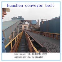 Multi-Ply Fabric Shock and tear net-resistant Conveyor Belt