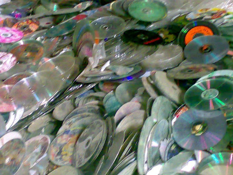 cd/dvd plastic Scrap