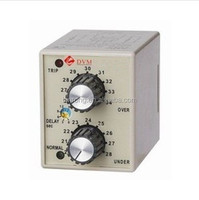 Adjustable Over/Under Voltage Protection Monitor Relay With Base DVM-A/DC 24V