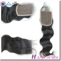 Top Quality Body Wave Virgin Peruvian Hair Swiss Lace Top Closure Hairpiece Freestyle