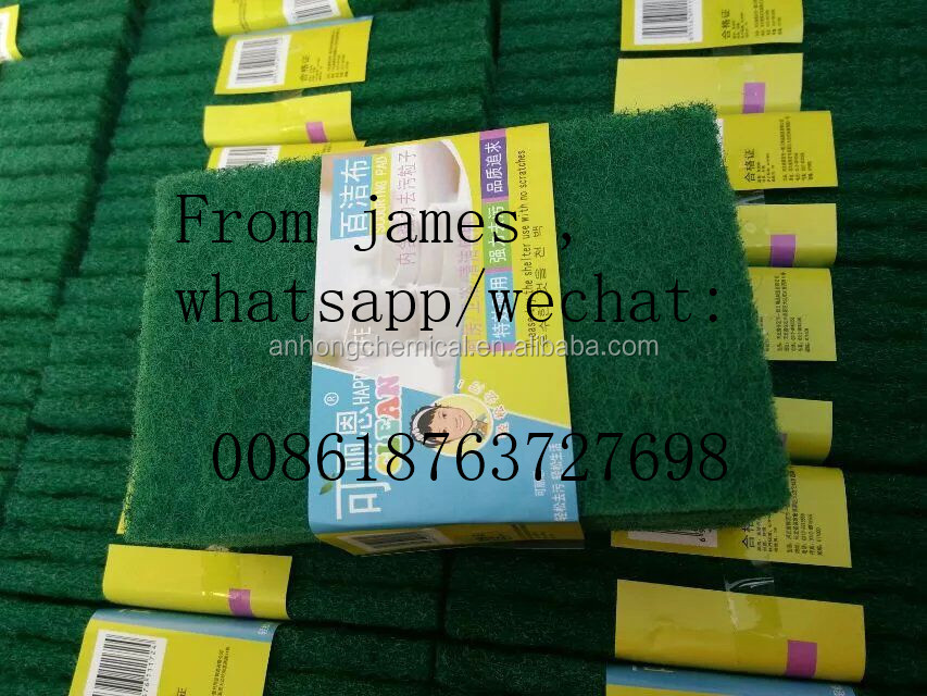 Best selling Green pads in rolls Scouring Pad