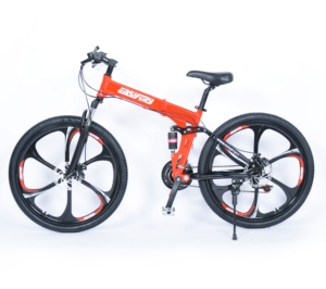 26 INCH 21 speed full suspension land rover folding cycle mtb bicycle bike