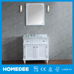 Top Selling Solid Wood Bathroom Floor Cabinet Waterproof Bathroom Cabinet 2016 With tops