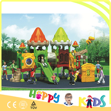 Supermarket kids outdoor playground, used commercial playground equipment for sale