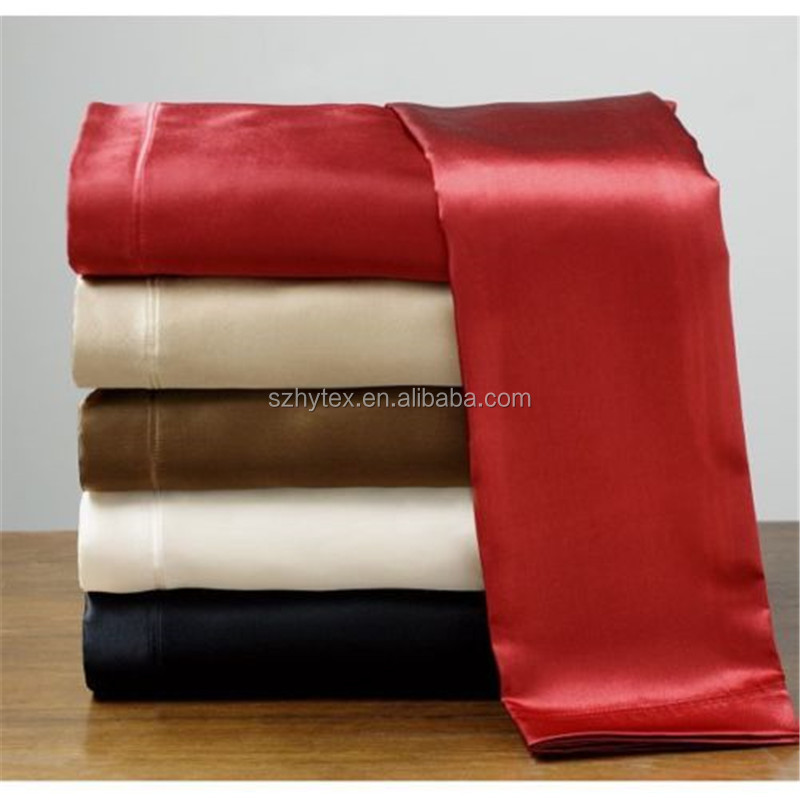 New soft silky satin fitted flat pillowcases bed sheets for How to buy soft sheets