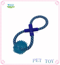 """8"" shape crossed pet rope toy ,Pet toys molar tooth,dog chew toy"