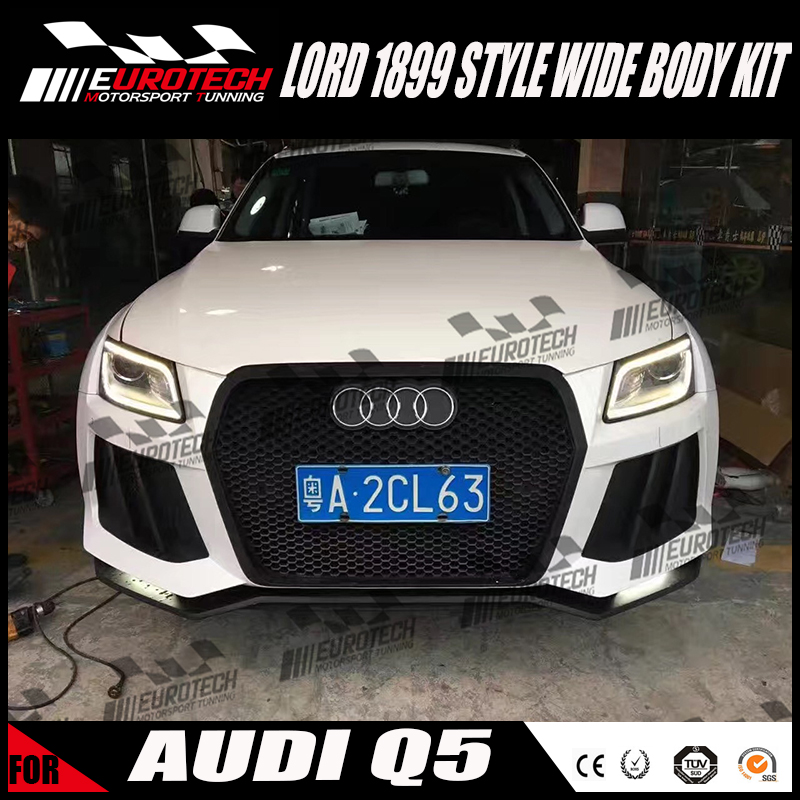 best price in china LORD 1899 style wide body kit for AUD Q5 2008-on