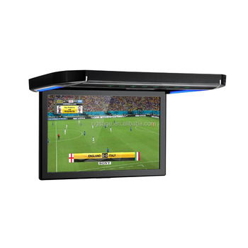 XTRONS CM121HD 1280X800 roof mounted monitor with hdmi input, car tft lcd roof mounted monitor tv usb, 12 inch car lcd monitor