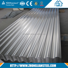 Best price 0.7 mm thick aluminum galvanized calamine corrugated zinc roofing sheets