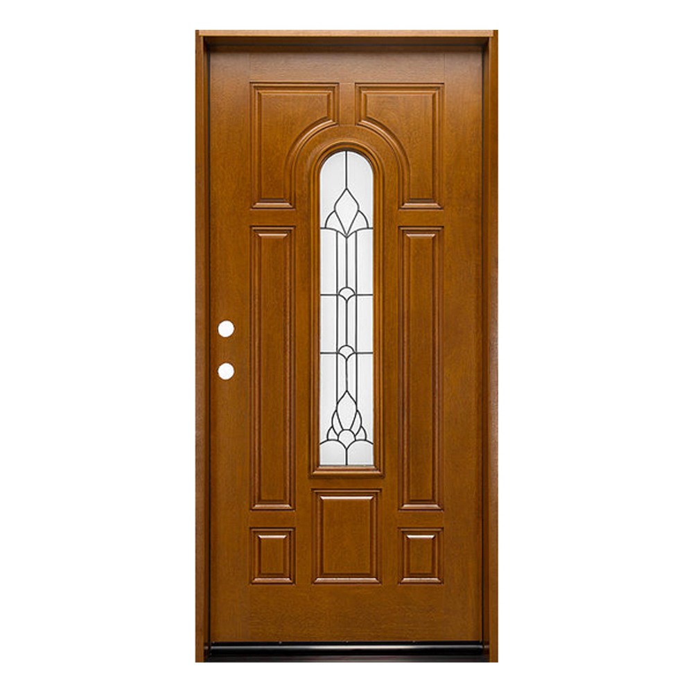 wrought iron exterior entry doors with glass