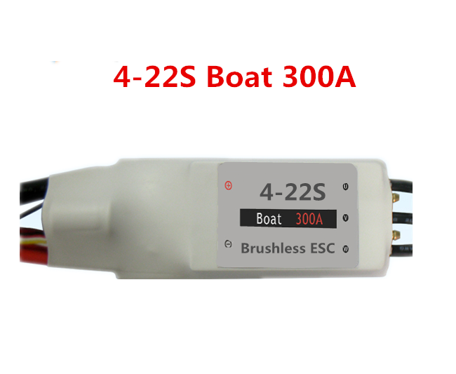 brushless 22S 300A ESC for RC Boat