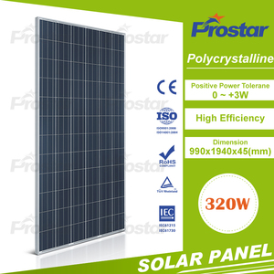 Prostar high quality 320W solar panel for home electricity