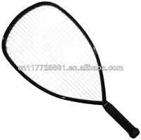 100% Graphite Racketball Racket, one piece with 100-inch2 Head Size and 56cm Long