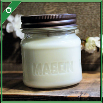 Cherry Blossom scented all natural soy candles mason jar candles
