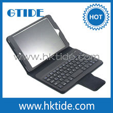 factory directly ultra thin custom bluetooth keyboard for ipad mini case with keyboard