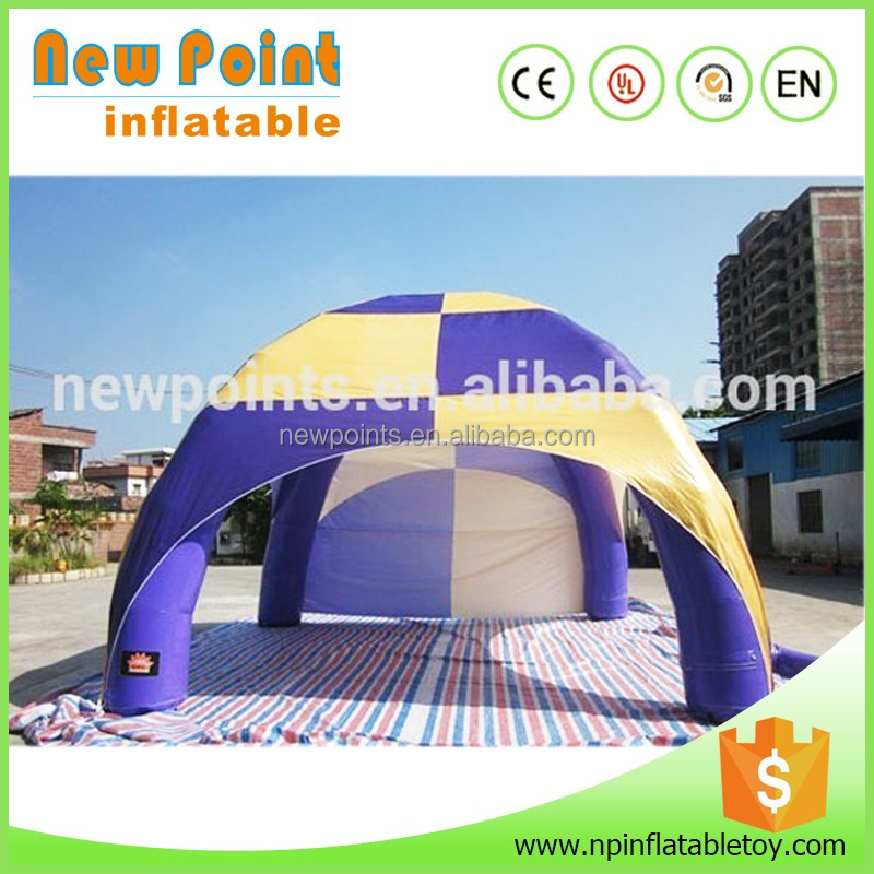 New comercial custom design inflatable car garage tent for sale