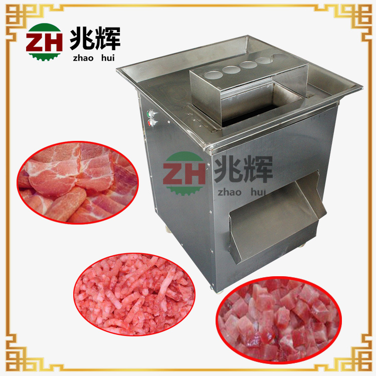 Large vertical type cooked meat goose dicing machine fresh boneless meat cutter